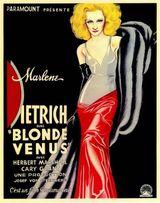 Affiche Blonde Vénus