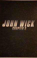 Affiche John Wick 3