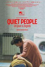 Affiche Quiet People, un jour à Zagreb
