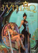 Couverture L'Haleine de l'ogre - Les Naufragés d'Ythaq, tome 11