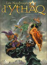 Couverture L'Ombre de Khengis - Les Naufragés d'Ythaq, tome 4
