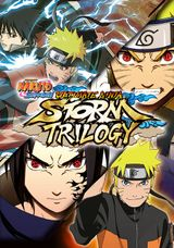 Jaquette Naruto Shippuden : Ultimate Ninja Storm Trilogy