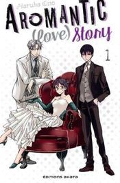 Couverture Aromantic (love) story