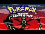 Jaquette Pokémon Emeraude Plus