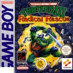 Jaquette Teenage Mutant Ninja Turtles III : Radical Rescue