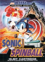 Jaquette Sonic the Hedgehog Spinball