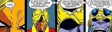 Cover Jim Starlin et sa clique cosmique chez Marvel
