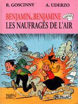 Couverture Les Naufragés de l'air - Benjamin et Benjamine, tome 1