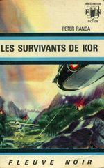 Couverture Les Survivants de Kor
