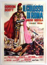 Affiche Le colosse de Rome