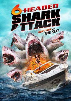 Affiche 6-Headed Shark Attack