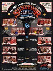 Affiche Survivor Series 1990