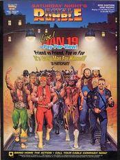 Affiche Royal Rumble 1991