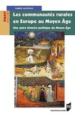 Couverture Les communautés rurales en Europe au Moyen Age