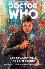 Couverture Les Révolutions de la Terreur - Doctor Who : Les Nouvelles Aventures du Dixième Docteur, tome 1