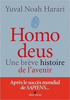 Couverture Homo deus