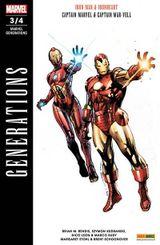 Couverture Marvel Générations, tome 3