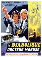 Affiche Le Diabolique Docteur Mabuse