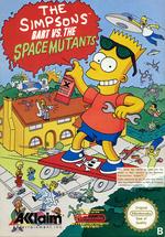 Jaquette The Simpsons : Bart vs. the Space Mutants