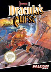 Jaquette Castlevania III : Dracula's Curse