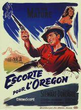 Affiche Escorte pour l'Oregon