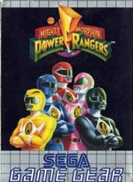 Jaquette Mighty Morphin Power Rangers