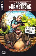 Couverture La Fureur du Guerrier Éternel - Archer & Armstrong, tome 2