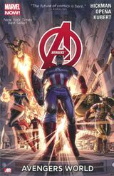 Couverture Avengers by Jonathan Hickman Omnibus Vol. 1