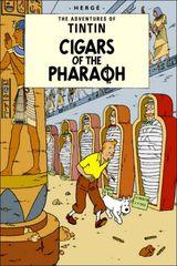Affiche Tintin et les cigares du Pharaon