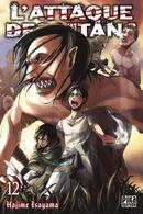 Couverture L'Attaque des Titans, tome 12