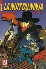 Couverture La Nuit du ninja - Shadow, tome 3