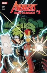 Couverture Avengers: Back to Basics