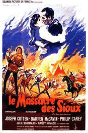 Affiche Le Massacre des Sioux