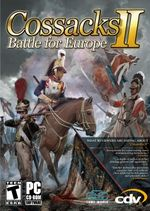 Jaquette Cossacks II : Battle for Europe
