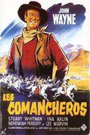 Affiche Les Comancheros