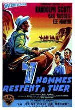 Affiche Sept hommes à abattre