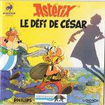 Jaquette Astérix : Le Défi de César