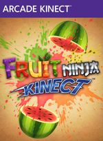 Jaquette Fruit Ninja Kinect