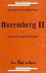 Couverture Nuremberg II ou les faux monnayeurs