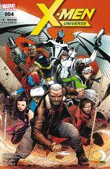 Couverture La Vie en X - X-Men Universe (Marvel France 5e série), tome 4