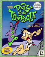 Jaquette Day of the Tentacle