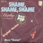 Pochette Shame, Shame, Shame