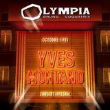 Pochette Yves Montand - Olympia Octobre 1981 (Live)