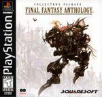 Jaquette Final Fantasy Anthology : Édition américaine