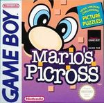 Jaquette Mario's Picross