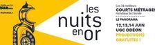 Cover Les Nuits en Or 2018 - Court Métrage