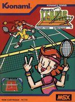 Jaquette Konami's Tennis