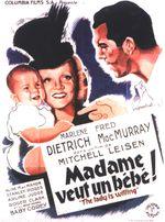 Affiche Madame veut un bébé
