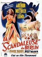 Affiche La Scandaleuse de Berlin