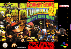 Jaquette Donkey Kong Country 2: Diddy's Kong Quest